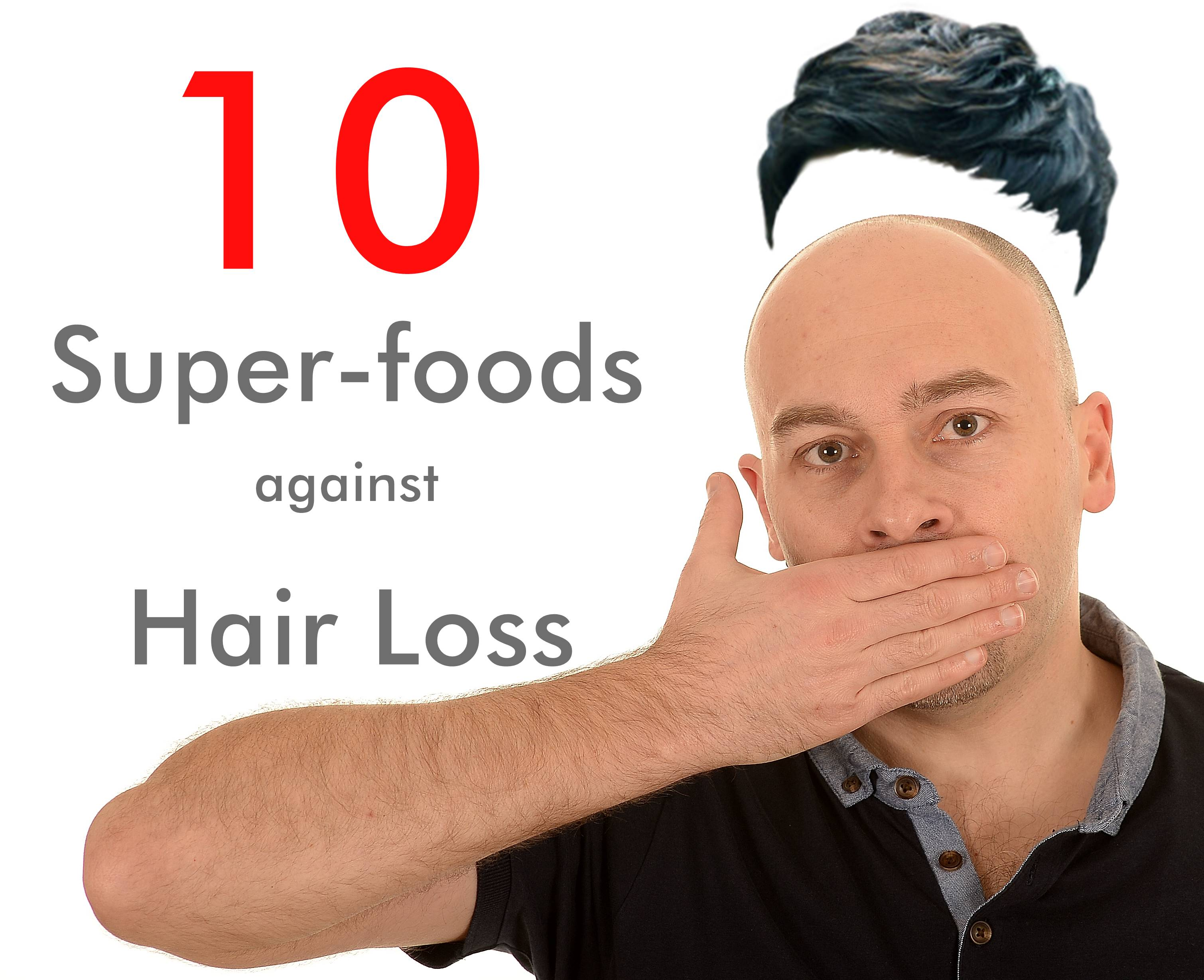 Foods that prevent hair loss in men