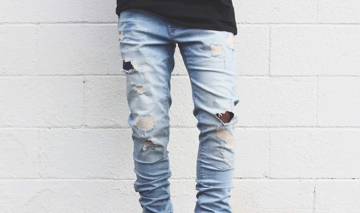 Ripped Jeans Tutorial • Men's Daily Life